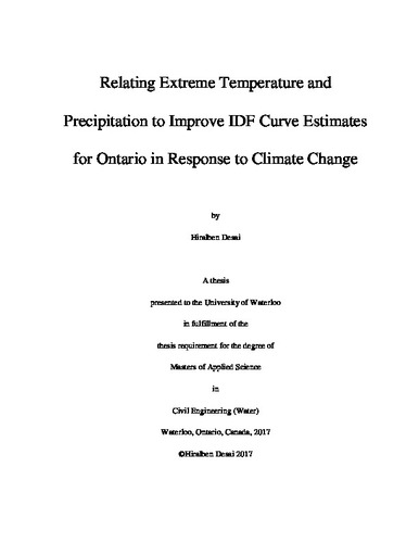 Research Paper Introduction about Climate Change