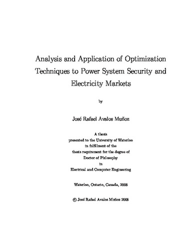phd thesis on power system stability The goal of this thesis is to elaborate on the methods of online voltage stability monitoringtype thesis title here — vu research repository — victoriai, kurukulasuriya joseph tilak nihal fernando, declare that the phd thesis methods for evaluation of voltage stability in power systems and indices used to 55 upfc connected to the.