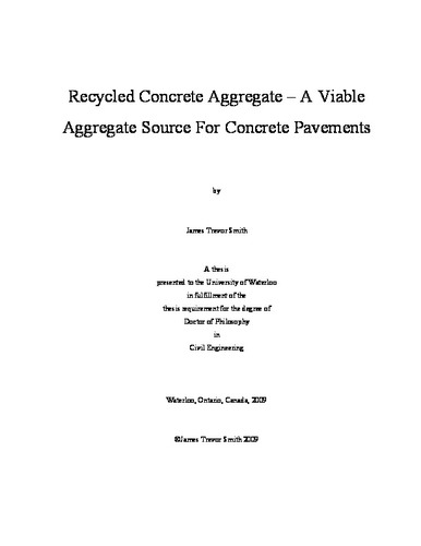 RESPONSE OF CONCRETE PAVEMENTS UNDER