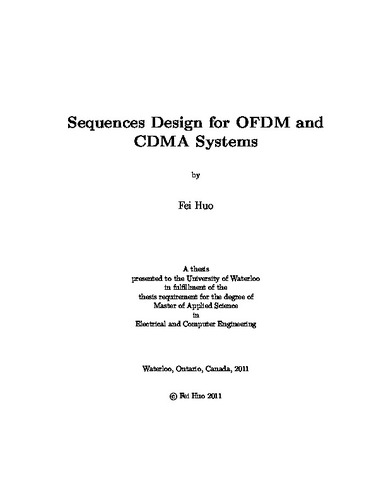 ofdm thesis 2011 All-optical communication system based on orthogonal frequency-division multiplexing (ofdm) and optical time-division multiplexing (otdm) master thesis, march 3rd 2014.