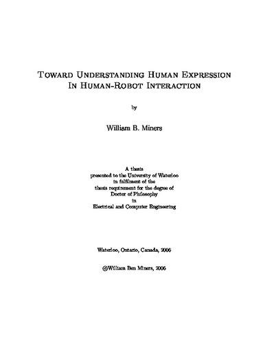Toward Understanding Human Expression in Human-Robot Interaction